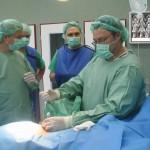 Pirmoji diodinio lazerio operacija